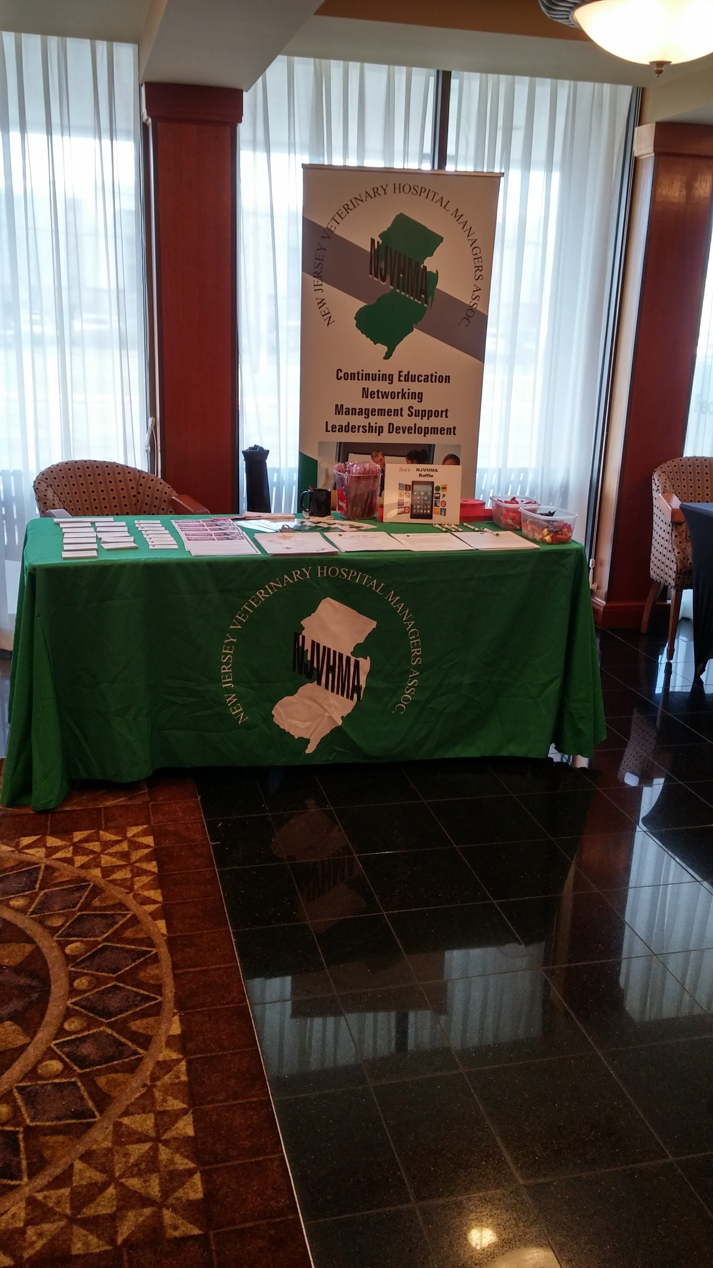NJVHMA Supporting NJVTA Annual Meeting April 2018